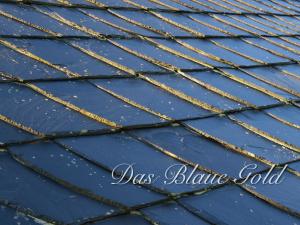Das Blaue Gold Thüringens ist der Schiefer.